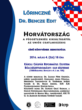 Book launch: Croatia from the proclamation of independence till the EU-accession