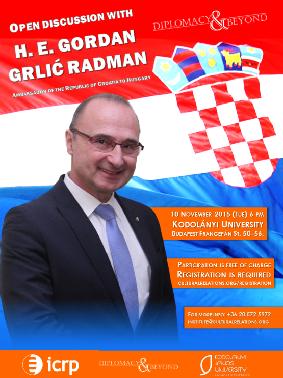 Diplomacy&Beyond: Dr. Gordan Grlić Radman