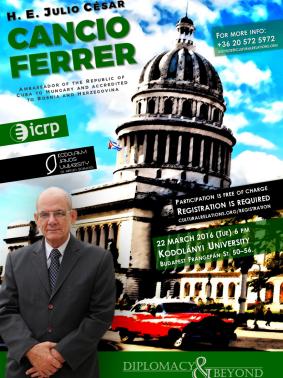 Diplomacy&Beyond: Julio César Cancio Ferrer