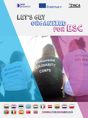 Let's get organised for ESC