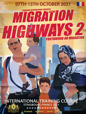Youth work on migration